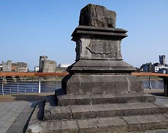 St. Munchin's Parish - The Treaty Stone in Limerick