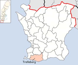 Trelleborg Municipality Municipality in Skåne County, Sweden
