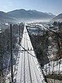 Trento-Malè-Messana Railway - Malè, Trento, Italy - January 2009 01.jpg