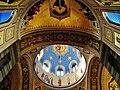 Trieste Tempio serbo-ortodosse della Santissima Trinità e di San Spiridone Innen Abside Nord e Cupola.jpg