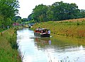 Trip boat on the Wey and Arun Canal, near the Onslow Arms - geograph.org.uk - 1436133.jpg