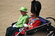 Trooping the Colour Queen Duke of Edinburgh 16th June 2007