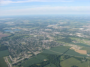 Troy, Ohio - Aerial view of Troy