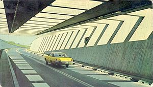 Raúl Uranga – Carlos Sylvestre Begnis Subfluvial Tunnel - Image: Tunel subfluvial grafica sa 1146 sf