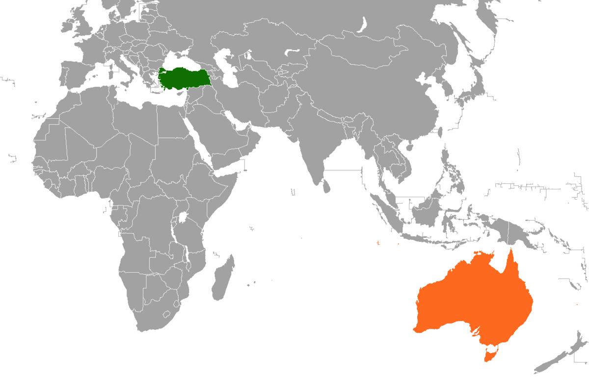 turkey australia relationship