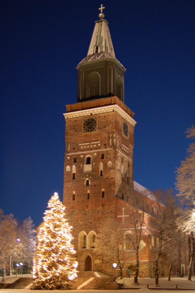 Turku Cathedral on December morning