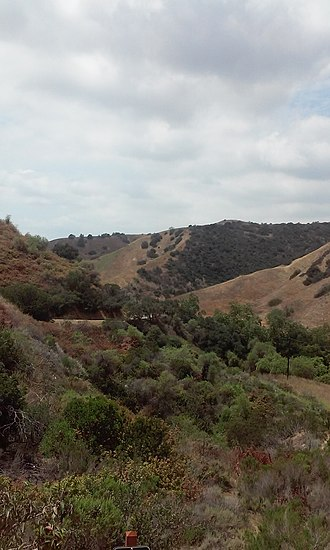 Turnbull Canyon - Turnbull Canyon from Skyline Dr.