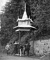 Tusnádfürdő 1900-ban, Mikes forrás fortepan 41439.jpg