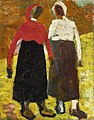 Two Peasant Figures by Kazimir Malevich, c. 1928-1930.jpg