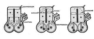 Split-single engine