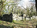 Ty Powdwr from the north-west showing the inner store and outer wall - geograph.org.uk - 350001.jpg
