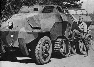 Type 1 Ho-Ha Type of half-track armoured personnel carrier