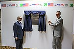 U.S. Ambassador and Power Information Technology Company CEO Commemorate Opening of Network Operations Center in Lahore (15239200760).jpg