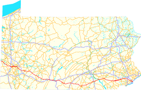 U.S. Route 30 (PA) map.png
