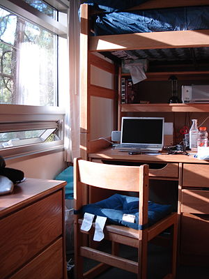 UCLA dorm room (of Hedrick Summit)