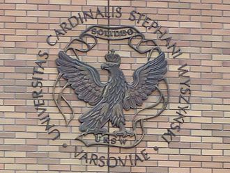 Cardinal Stefan Wyszyński University in Warsaw - Image: UKSW Warsaw logo