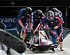 The Night Train sled being run by the American team in the 2010 Winter Olympics