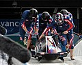 USA-1 in heat 3 of 4 man bobsleigh at 2010 Winter Olympics 2010-02-27.jpg