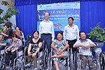 USAID Project Supports Rehabilitation Department for Children and Wheelchair Distribution in Danang (9305243456).jpg