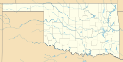 Stidham is located in Oklahoma