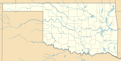 USA Oklahoma location map.svg
