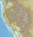 USA Region West relief Santa Lucia Range location map.jpg