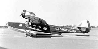 Douglas Dolphin - U.S. Coast Guard RD-2 in June, 1932
