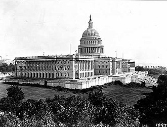 67th United States Congress - Image: US Capitol 1906
