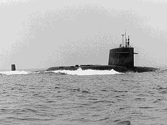 Ethan Allen-class submarine - Image: USS Ethan Allen SSBN 608