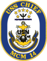 USS Chief MCM-14 Crest.png