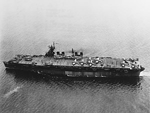 USS Independence (CVL-22) - USS Independence in San Francisco Bay, 15 July 1943