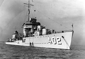 USS Mayrant (DD-402)