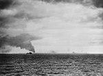 USS Northampton (CA-26) firing on Wotje on 1 February 1942.jpg