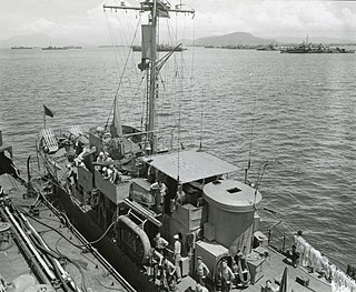 US Navy WW II submarine chaser