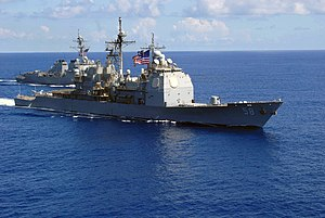 USS Philippine Sea en route to deployment with the 6th Fleet