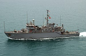 Minehunter - A US Navy coastal minehunter