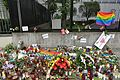US Embassy in Warsaw 2016 Orlando nightclub shooting.jpg