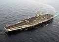 US Navy 030114-N-3235P-503 Harry S. Truman steams underway in the Mediterranean Sea.jpg