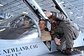 US Navy 030407-N-4154B-504 Vice Adm. Scott A. Frye, Commander Sixth Fleet, is seated in the cockpit of an F-A-18C Hornet.jpg