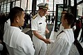 US Navy 070526-N-0696M-685 Chief of Naval Operations (CNO) Adm. Mike Mullen greets Sailors assigned to Naval Hospital Great Lakes, Ill., prior to a wreath laying ceremony in Daley Plaza, Chicago.jpg