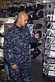 US Navy 081107-N-9999X-004 A Sailor wears the Navy working uniform (NWU) while shopping at the Naval Air Station Oceana Navy Exchange.jpg