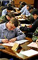 US Navy 090115-N-0807W-075 First class petty officers take the 2009 chief petty officer advancement exam.jpg