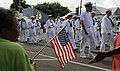 US Navy 091107-N-7498L-115 Sailors assigned to the U.S. Pacific Fleet Band march in a Veteran's Day parade.jpg