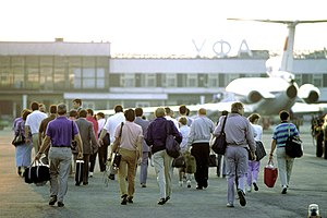 Ufa International Airport - Ufa International Airport in 1989.