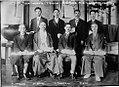 Uichi Torikata, T. Kujirai, Dr. Y. Inouye, M. Kitamura, T. Hayashi, M. Honda, E. Yokoyama, T. Ōya.jpg