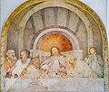 Ultima Cena Refettorio Romanino San Cristo dettaglio centrale Brescia.jpg