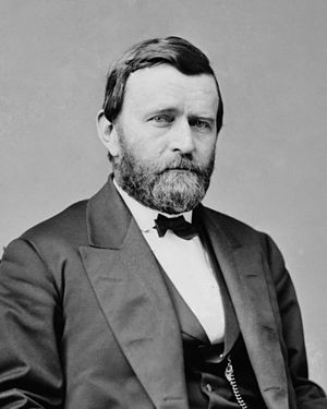 1872 in the United States - President Ulysses S Grant by  Matthew Brady c. 1870