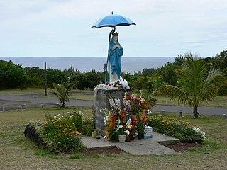 Vierge au parasol