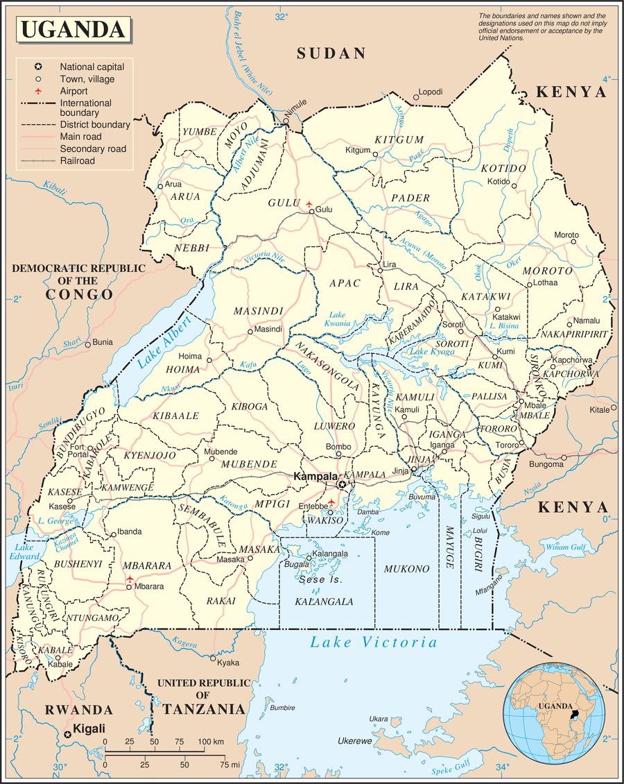 Geography of Uganda Wikiwand