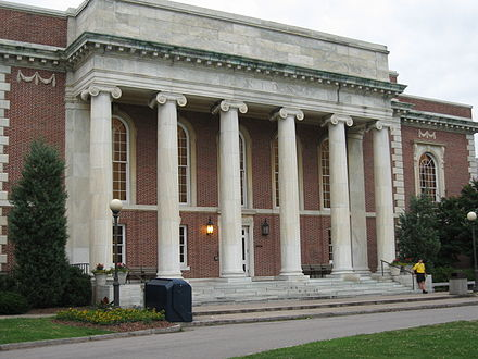 East Campus' Union building, home to the freshman dining hall also known as Marketplace UnionEast2.jpg